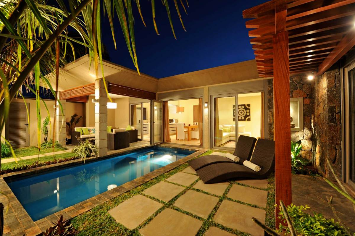 athena private villas mauritius photos